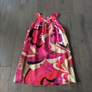 Beautiful silk summer dress